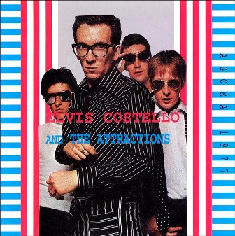 Elvis Costello Agora 77 front cover