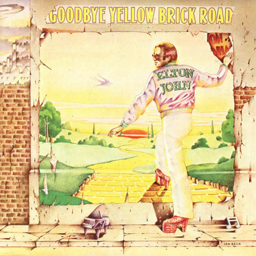 elton john yellow brick road portrait