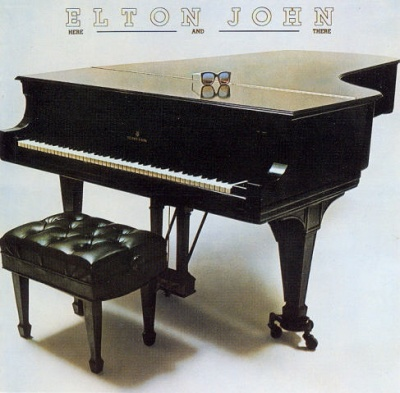 Elton John Here and There cover