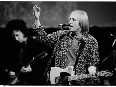 Tom Petty and Mike Campbell - photo by Jay Blakesberg