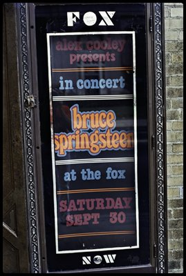 Bruce at the Fox