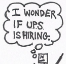 Thumbnail: Frustrated with editor, writer wonders if U.P.S. is hiring