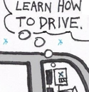"""Thumbnail: Angry driver says """"Learn how to drive!"""""""