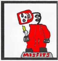 teaser: a misfits bobblehead stands, head hanging off loosely on a spring